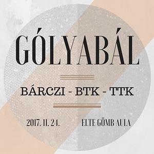 ELTE BGGyK-BTK-TTK Gólyabál 2017
